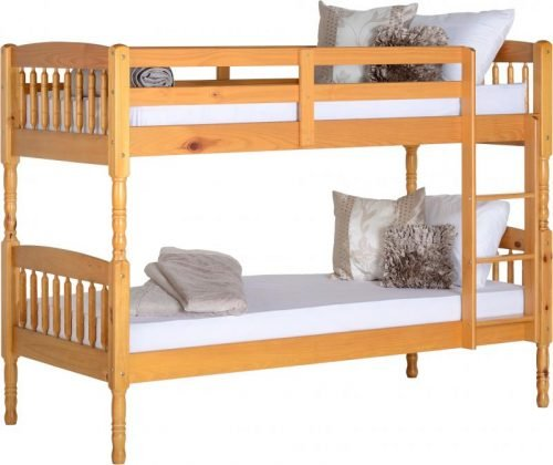 200-205-001 Albany 3′ Bunk Bed Antique Pine - IWFurniture
