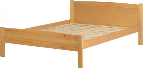 200-203-001 Amber 4'6 Bed Antique Pine - IWFurniture