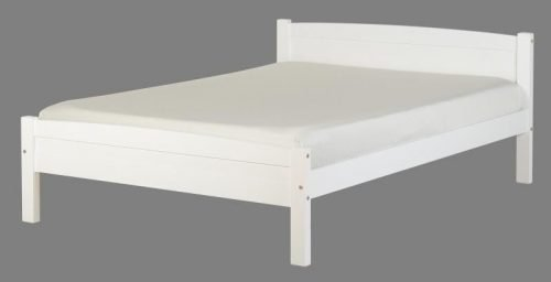 200-203-002 Amber 4'6 Bed White - IWFurniture