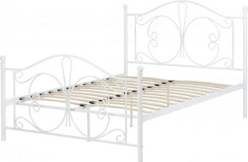 200-203-081Annabel 4'6 Bed White - IWFurniture
