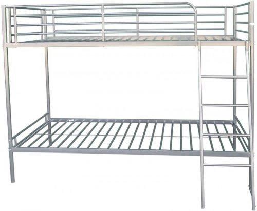 200-205-005 Brandon 3′ Bunk Bed Silver - IWFurniture