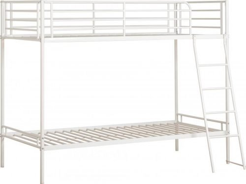 200-205-021 Brandon 3′ Bunk Bed White - IWFurniture
