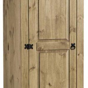 Corona 1 Door Wardrobe Pine 1