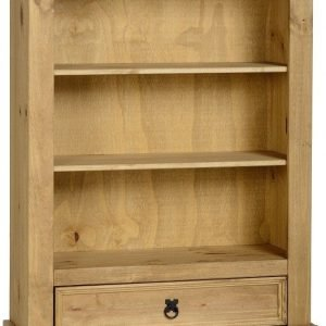 Corona 1 Drawer Bookcase Pine 1