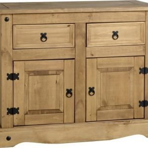 Corona 2 Door 2 Drawer Sideboard Pine 1