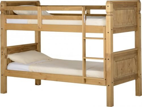 200-205-006 Corona 3′ Bunk Bed Pine - IWFurniture