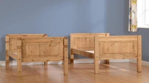 200-205-006Corona 3′ Bunk Bed Pine - IWFurniture