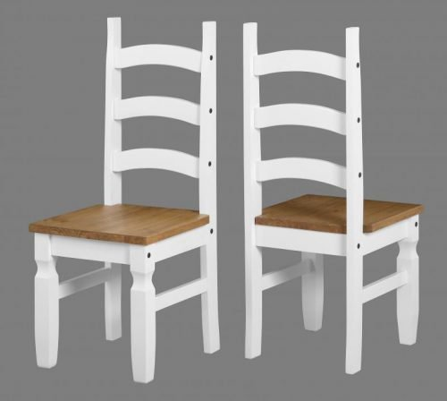400-402-071 Corona Chair White - IW Furniture