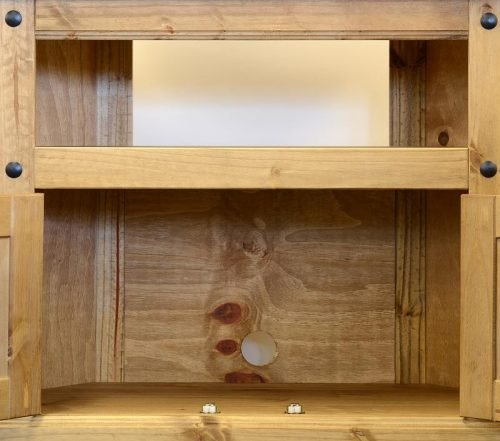 300-305-011 Corona TV Cabinet Pine - IWFurniture