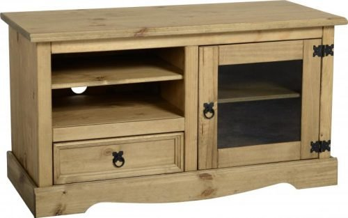 300-307-003 Corona Entertainment Unit Pine - IWFurniture