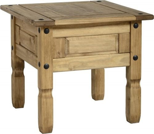 300-302-010 Corona Lamp Table Pine - IWFurniture