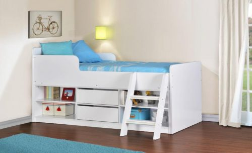 Felix Low Sleeper Bed White - IW Furniture Beds