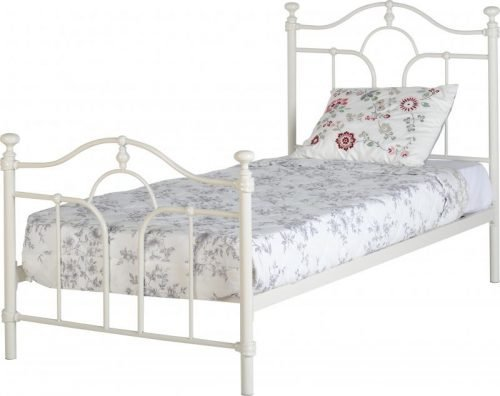 200-201-015 Keswick 3′ Bed in Cream – IW Furniture Beds