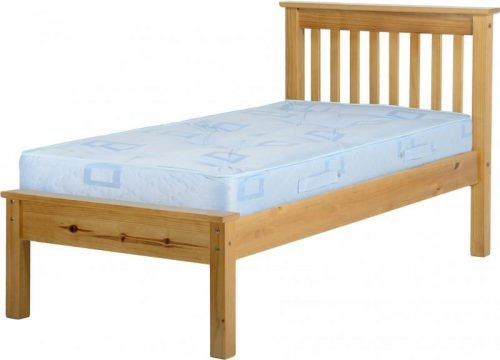 200-201-020 Monaco 3′ Bed Low Foot End Antique Pine – IW Furniture Beds