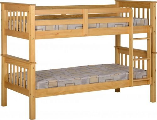 200-205-008 Neptune 3′ Bunk Bed Oak Effect - IWFurniture