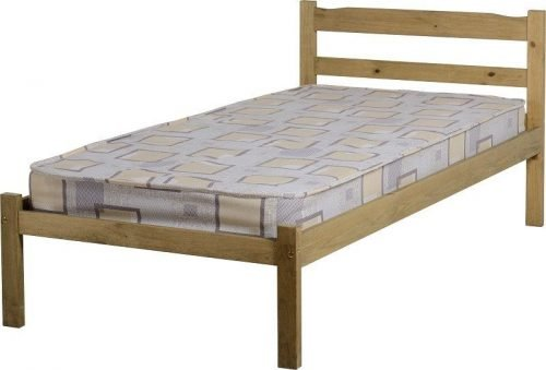 200-201-027 Panama 3′ Bed Natural Wax – IW Furniture Beds