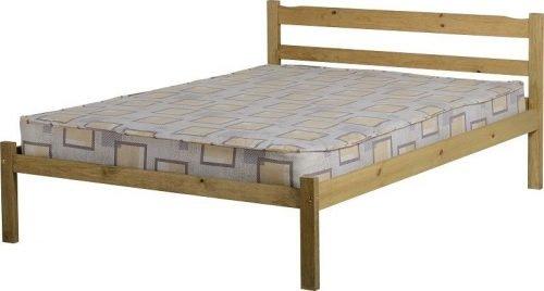 200-203-033 Panama 4′ 6 Bed Natural Wax - IWFurniture
