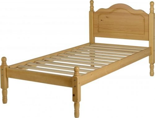 200-201-035 Sol 3′ Bed Antique Pine - IWFurniture