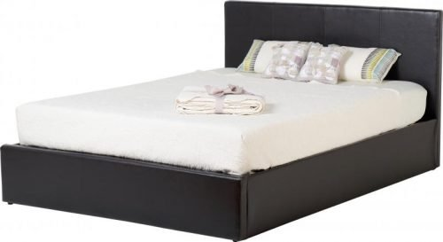 200-203-048Waverley 4'6 Storage Bed Brown Faux Leather - IWFurniture