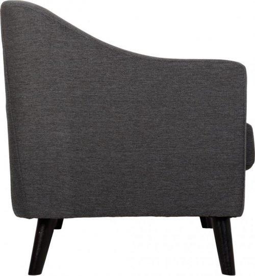 Ashley 3 Seater Sofa Dark Grey Fabric