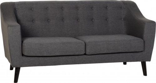 300-308-029 Ashley 3 Seater Sofa Dark Grey Fabric - IWFurniture