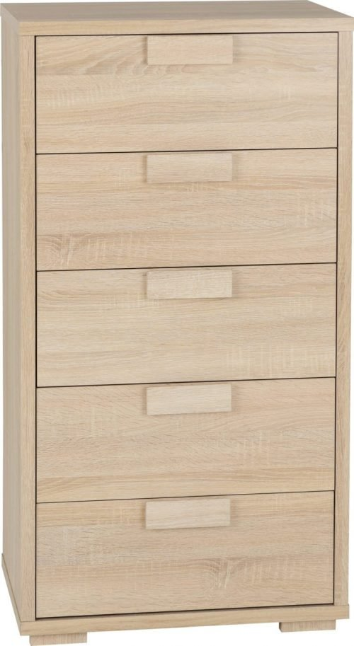 CAMBOURNE 5 DRAWER CHEST LIGHT SONOMA OAK 2019 01 100 102 011 768x1402 1