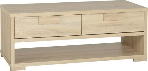 300-301-005 Cambourne 2 Drawer Coffee Table - IWFurniture