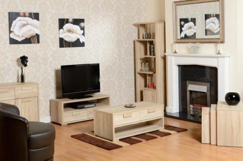 300-305-004 Cambourne 2 Drawer Flat Screen TV Unit - IWFurniture