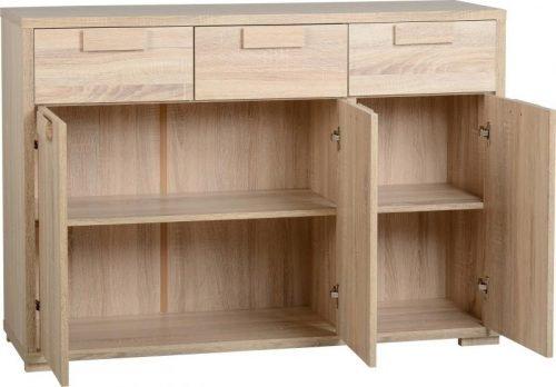400-405-003 Cambourne 3 Door 3 Drawer Sideboard - IWFurniture