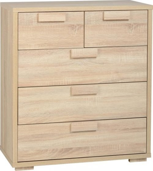100-102-009 Cambourne 3+2 Drawer Chest - IWFurniture