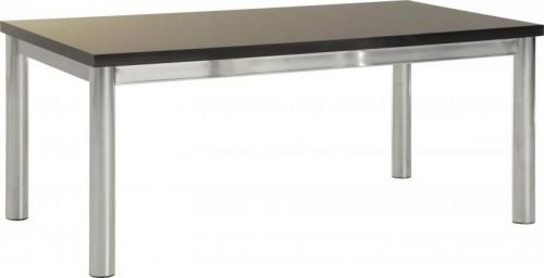 300-301-009 Charisma Coffee Table Black Gloss – Chrome - IWFurniture