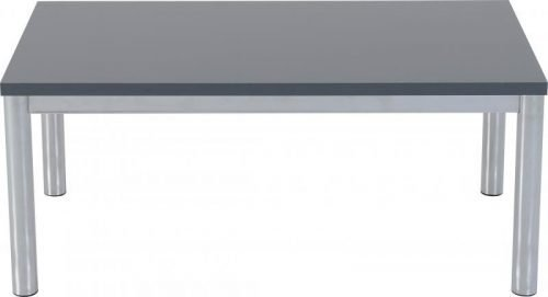 300-301-042 Charisma Coffee Table Grey Gloss – Chrome - IWFurniture
