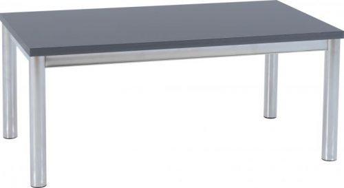 300-301-042 Charisma Coffee Table Grey Gloss – Chrome - IWFurniture