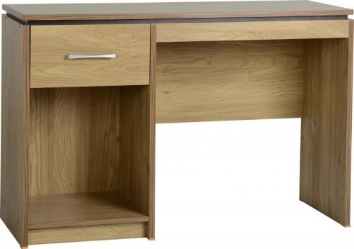 500-501-003 Charles Computer Desk Oak - IWFurniture