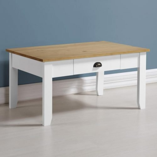 300-301-036 Ludlow Coffee Table White-Oak Lacquer  - IWFurniture