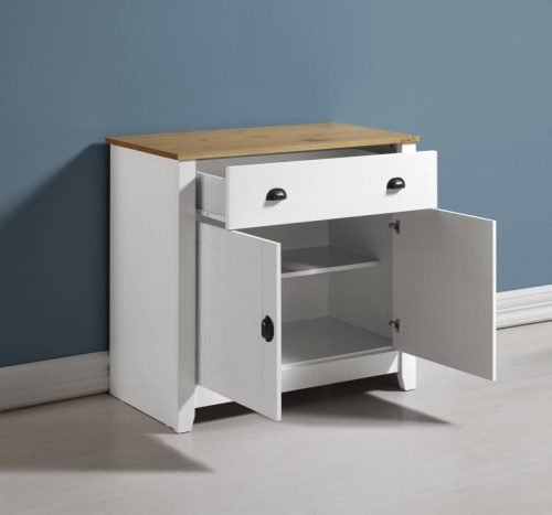 400-405-024 Ludlow Sideboard White-Oak Lacquer - IWFurniture