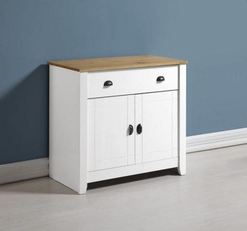 400-405-024 Ludlow Sideboard White-Oak Lacquer - IWFurniture
