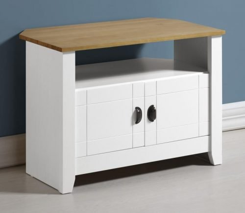 300-305-029 Ludlow TV Unit White-Oak Lacquer - IWFurniture