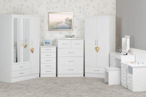 Nevada White Gloss - IW Furniture
