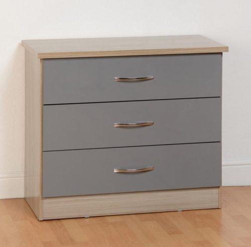 Nevada 3 Drawer Chest 100-102-091 - IWFurniture