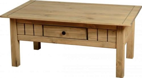 300-301-024 Panama 1 Drawer Coffee Table - IWFurniture