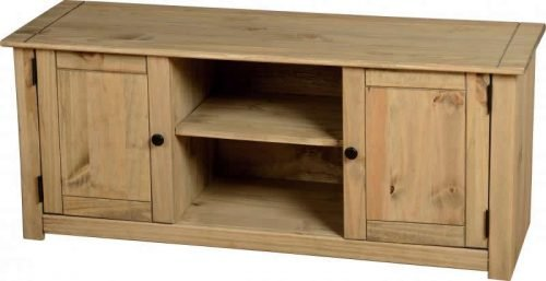 300-305-019 Panama 2 Door 1 Shelf Flat Screen TV Unit - IWFurniture