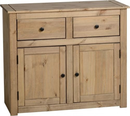 400-405-013 Panama 2 Door 2 Drawer Sideboard - IWFurniture