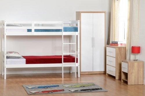 100-108-008Seville Bedroom Set White - IWFurniture