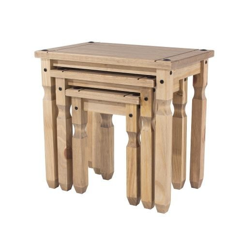 CR907 corona premium nest of tables - IWFurniture