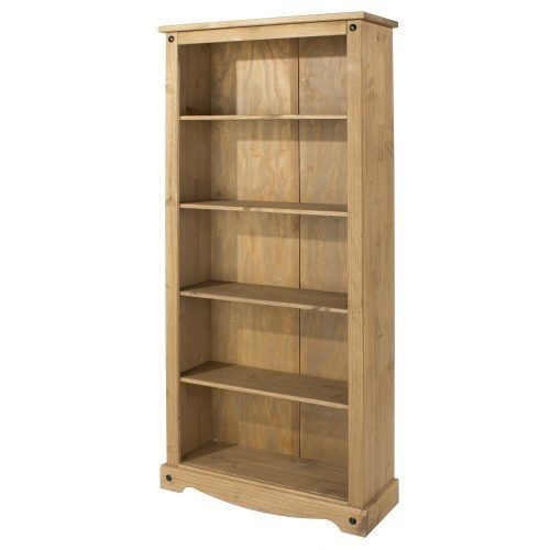 CR924 Corona premium tall bookcase - IWFurniture