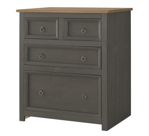 CRC512 Corona Carbon 2 plus 2 drawer chest - IWFurniture