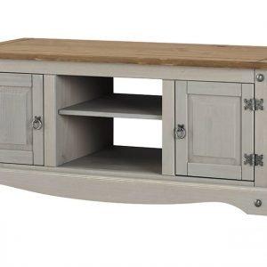 Corona Washed Grey 2 door flat screen TV unit - IW Furniture - CRG912