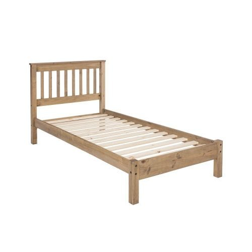 WX300LE Corona Premium 3ft slatted low bed end - IWFurniture