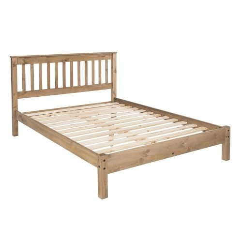 WX460LE Corona Premium 4'6slatted low bed end - IWFurniture